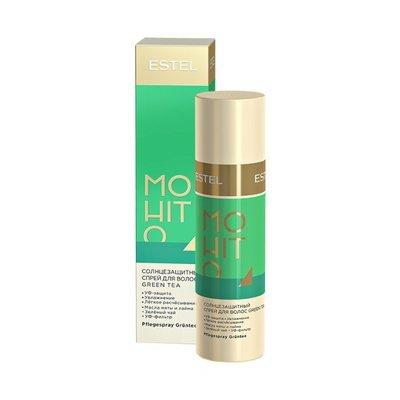 Солнцезащитный спрей для волос Зелёный чай ESTEL MOHITO, 100мл