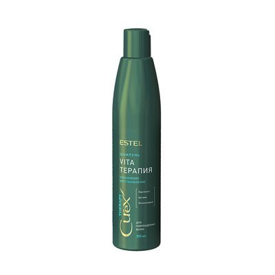 Шампунь для сухих, ослабленных и поврежденных волос ESTEL CUREX THERAPY, 300мл