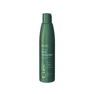 Крем-бальзам для сухих, ослабленных и поврежденных волос ESTEL CUREX THERAPY, 250мл