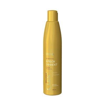 Блеск-шампунь для всех типов волос ESTEL CUREX BRILLIANCE, 300мл