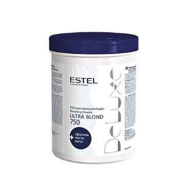 Обесцвечивающая пудра для волос ESTEL DE LUXE ULTRA BLOND, 750гр