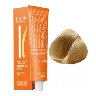 Крем-краска Londa Color интенсивное тонирование для волос 10/3 Яркий блонд золотистый, 60мл