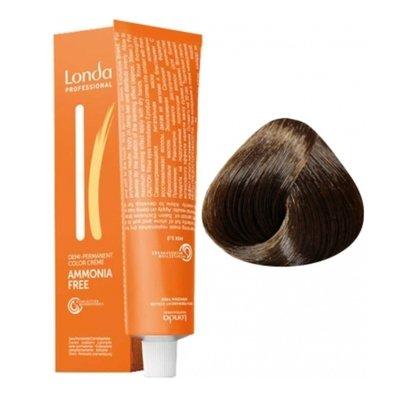Крем-краска Londa Color интенсивное тонирование для волос 4/77 Шатен интенсивно-коричневый, 60мл