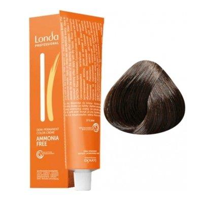 Крем-краска Londa Color интенсивное тонирование для волос 5/0 Светлый шатен, 60мл