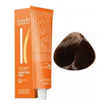 Крем-краска Londa Color интенсивное тонирование для волос 5/37 Светлый шатен золотисто-коричневый, 60мл