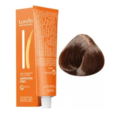 Крем-краска Londa Color интенсивное тонирование для волос 5/4 Светлый шатен медный, 60мл