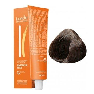 Крем-краска Londa Color интенсивное тонирование для волос 5/71 Светлый шатен коричнево-пепельный, 60мл