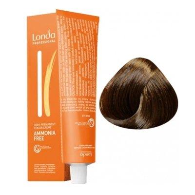 Крем-краска Londa Color интенсивное тонирование для волос 6/7 Темный блонд коричневый, 60мл