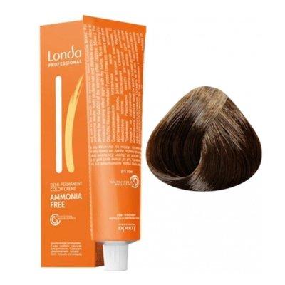 Крем-краска Londa Color интенсивное тонирование для волос 6/0 Темный блонд, 60мл