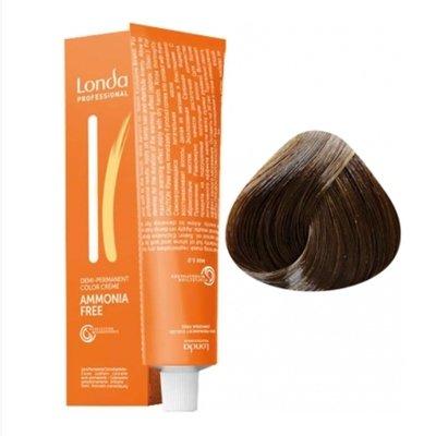 Крем-краска Londa Color интенсивное тонирование для волос 6/37 Темный блонд золотисто-коричневый, 60мл