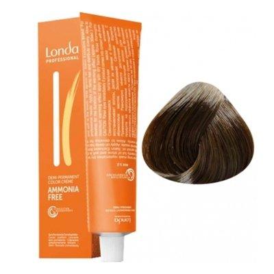 Крем-краска Londa Color интенсивное тонирование для волос 6/3 Темный блонд золотистый, 60мл