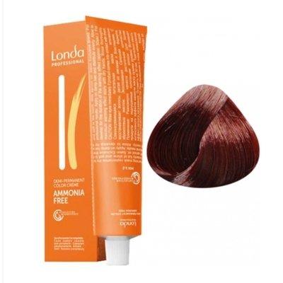 Крем-краска Londa Color интенсивное тонирование для волос 6/4 Темный блонд медный, 60мл