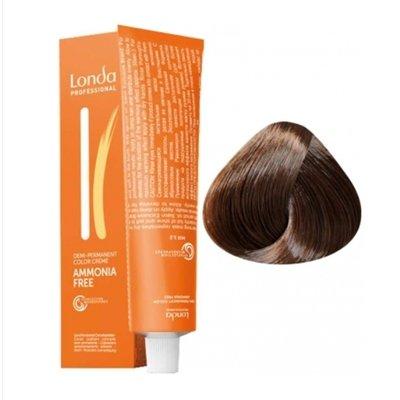 Крем-краска Londa Color интенсивное тонирование для волос 6/75 Темный блонд коричнево-красный, 60мл