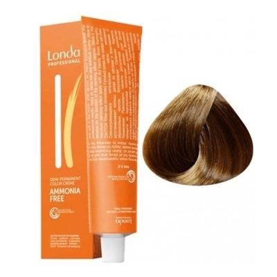 Крем-краска Londa Color интенсивное тонирование для волос 6/77 Темный блонд интенсивно-коричневый, 60мл