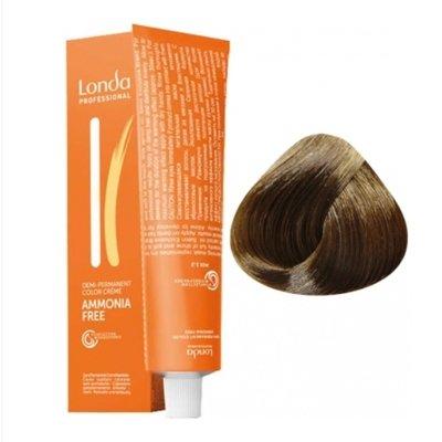 Крем-краска Londa Color интенсивное тонирование для волос 7/7 Блонд коричневый, 60мл