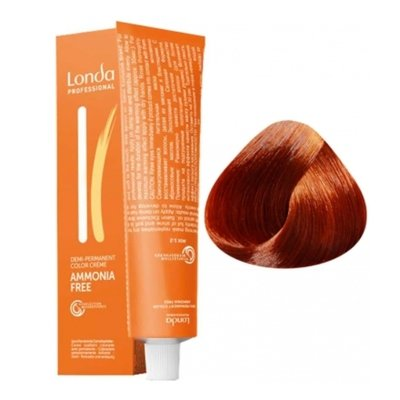 Крем-краска Londa Color интенсивное тонирование для волос 7/43 Блонд медно-золотистый, 60мл