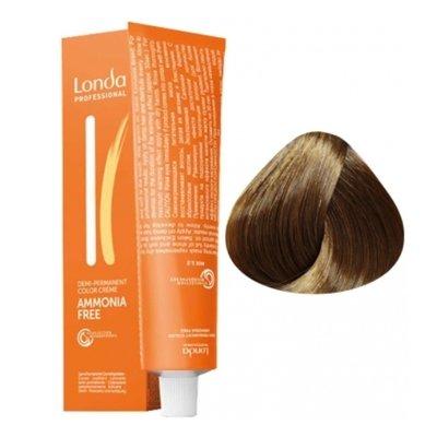 Крем-краска Londa Color интенсивное тонирование для волос 7/73 Блонд коричнево-золотистый, 60мл