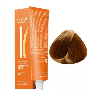 Крем-краска Londa Color интенсивное тонирование для волос 8/3 Светлый блонд золотистый, 60мл