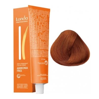 Крем-краска Londa Color интенсивное тонирование для волос 8/43 Светлый блонд медно-золотистый, 60мл