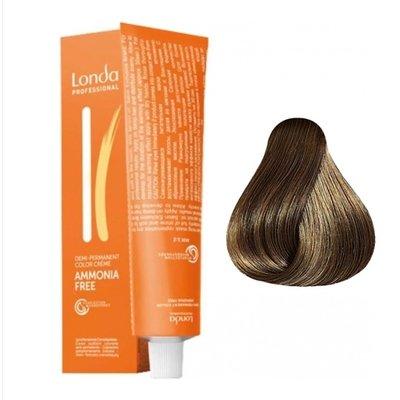 Крем-краска Londa Color интенсивное тонирование для волос 7/07 Блондин Extra-Coverage, 60мл