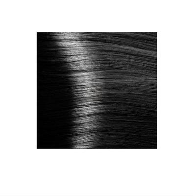 Крем-краска для волос KAPOUS HYALURONIC ACID 1.0 черный 100мл.