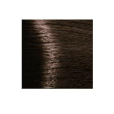 Крем-краска для волос KAPOUS HYALURONIC ACID 4.3 коричневый золотистый  100мл.