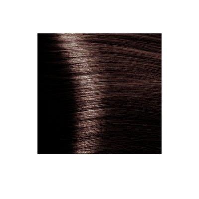 Крем-краска для волос KAPOUS HYALURONIC ACID 4.4 коричневый медный 100мл.