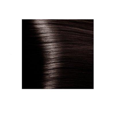 Крем-краска для волос KAPOUS HYALURONIC ACID 4.757 коричневый пралине 100мл.