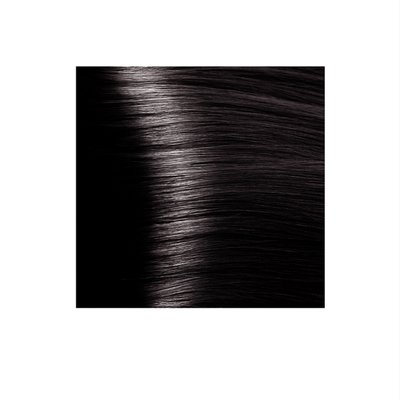 Крем-краска для волос KAPOUS HYALURONIC ACID 4.8 коричневый какао  100мл.