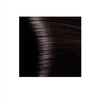 Крем-краска для волос KAPOUS HYALURONIC ACID 4.84 коричневый брауни 100мл.