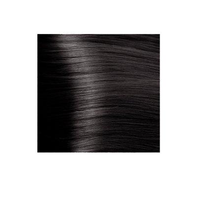 Крем-краска для волос KAPOUS HYALURONIC ACID 5.18 светлый коричневый лакричный  100мл.