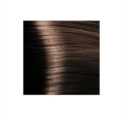 Крем-краска для волос KAPOUS HYALURONIC ACID 5.23 светлый коричневый перламутровый 100мл.