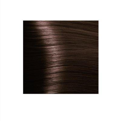Крем-краска для волос KAPOUS HYALURONIC ACID 5.32 светлый коричневый палисандр 100мл.