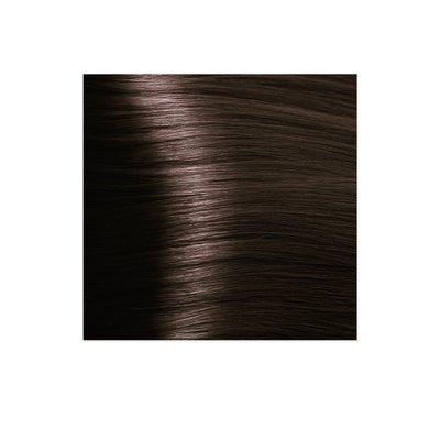 Крем-краска для волос KAPOUS HYALURONIC ACID 5.35 светлый коричневый каштановый 100мл.