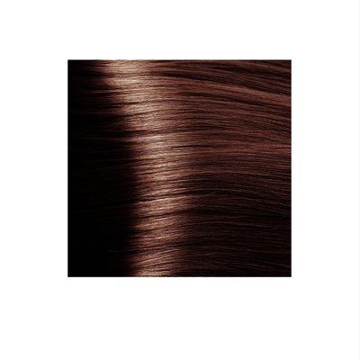 Крем-краска для волос KAPOUS HYALURONIC ACID 5.4 светлый коричневый медный 100мл.