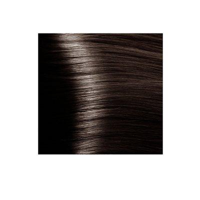 Крем-краска для волос KAPOUS HYALURONIC ACID 5.757 светлый коричневый пралине 100мл.