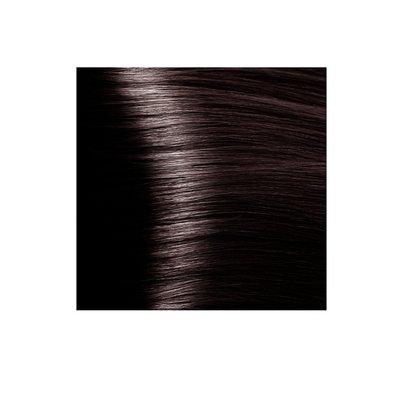 Крем-краска для волос KAPOUS HYALURONIC ACID 5.8 светлый коричневый шоколад 100мл.