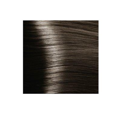 Крем-краска для волос KAPOUS HYALURONIC ACID 6.07 темный блондин натуральный холодный 100мл.