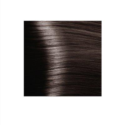 Крем-краска для волос KAPOUS HYALURONIC ACID 6.1 темный блондин пепельный 100мл.