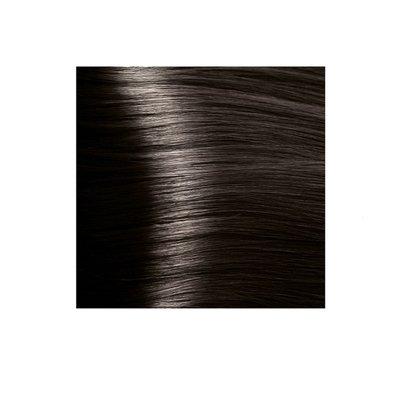 Крем-краска для волос KAPOUS HYALURONIC ACID 6.12 темный блондин табачный 100мл.