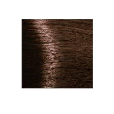 Крем-краска для волос KAPOUS HYALURONIC ACID 6.35 темный блондин каштановый 100мл.