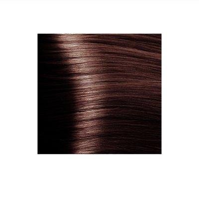 Крем-краска для волос KAPOUS HYALURONIC ACID  6.45 темный блондин медный махагоновый 100мл.