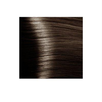 Крем-краска для волос KAPOUS HYALURONIC ACID  6.757 темный блондин пралине 100мл.