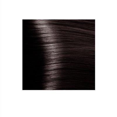 Крем-краска для волос KAPOUS HYALURONIC ACID  6.84 темный блондин брауни 100мл.