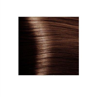 Крем-краска для волос KAPOUS HYALURONIC ACID 5.43 светлый коричневый светлый золотистый  100мл.