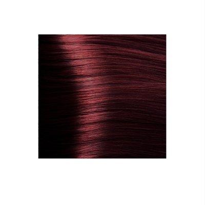 Крем-краска для волос KAPOUS HYALURONIC ACID 5.6 светлый коричневый красный 100мл.
