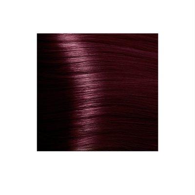Крем-краска для волос KAPOUS HYALURONIC ACID 5.66 светлый коричневый красный интенсивный 100мл.