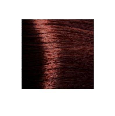 Крем-краска для волос KAPOUS HYALURONIC ACID  6.66 Темный блондин красный интенсивный 100мл.