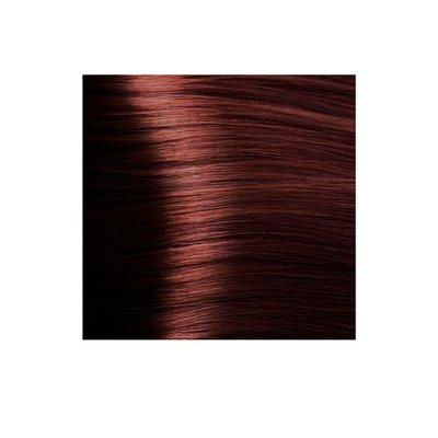 Крем-краска для волос KAPOUS HYALURONIC ACID  6.6 Темный блондин красный 100мл.