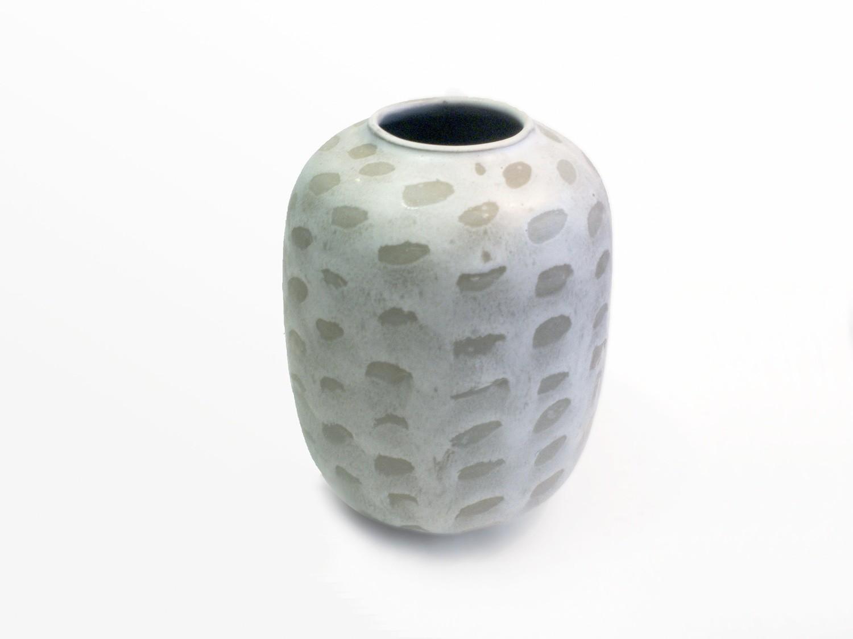 One of a Kind Vintage Jar Vase decorated by Weston Neil Andersen
